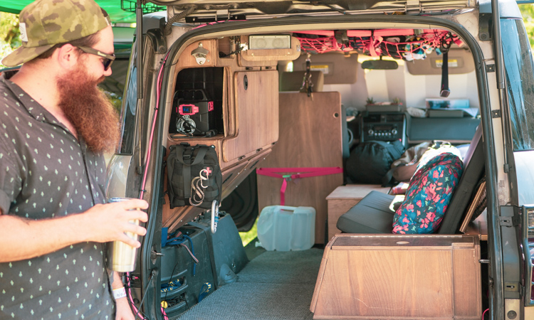 Virtual Tour: Asheville Van Life Rally