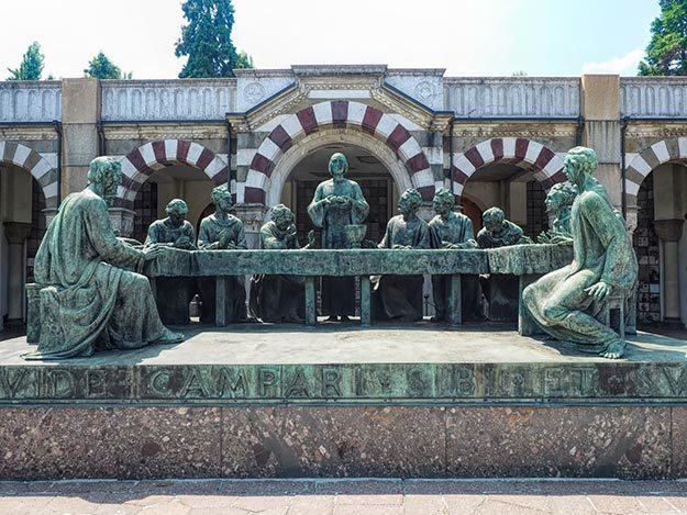 Monumental Cemetery in Milan, Italy – An Open Air Sculpture Museum