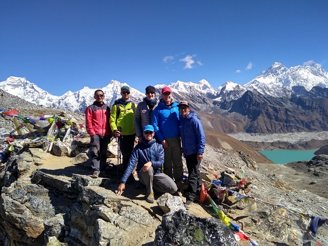 Ama Dablam: Elias & Team Trek to 5,000 meters, Ready to Start Their Climb