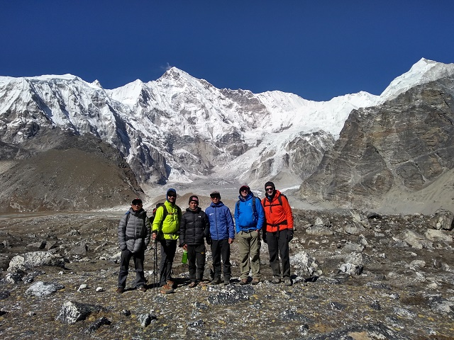 Ama Dablam: Elias & Team Trek to the Base of Cho Oyu