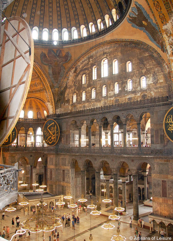 Hagia Sophia: Layers of History in Istanbul