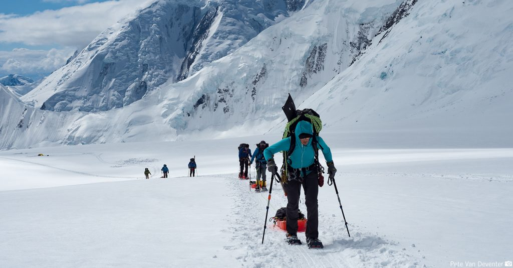 Mountaineering Training | Training for Sleds on Denali