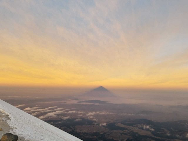 Mexico Volcanoes: Frank & Team Call from Summit of Orizaba