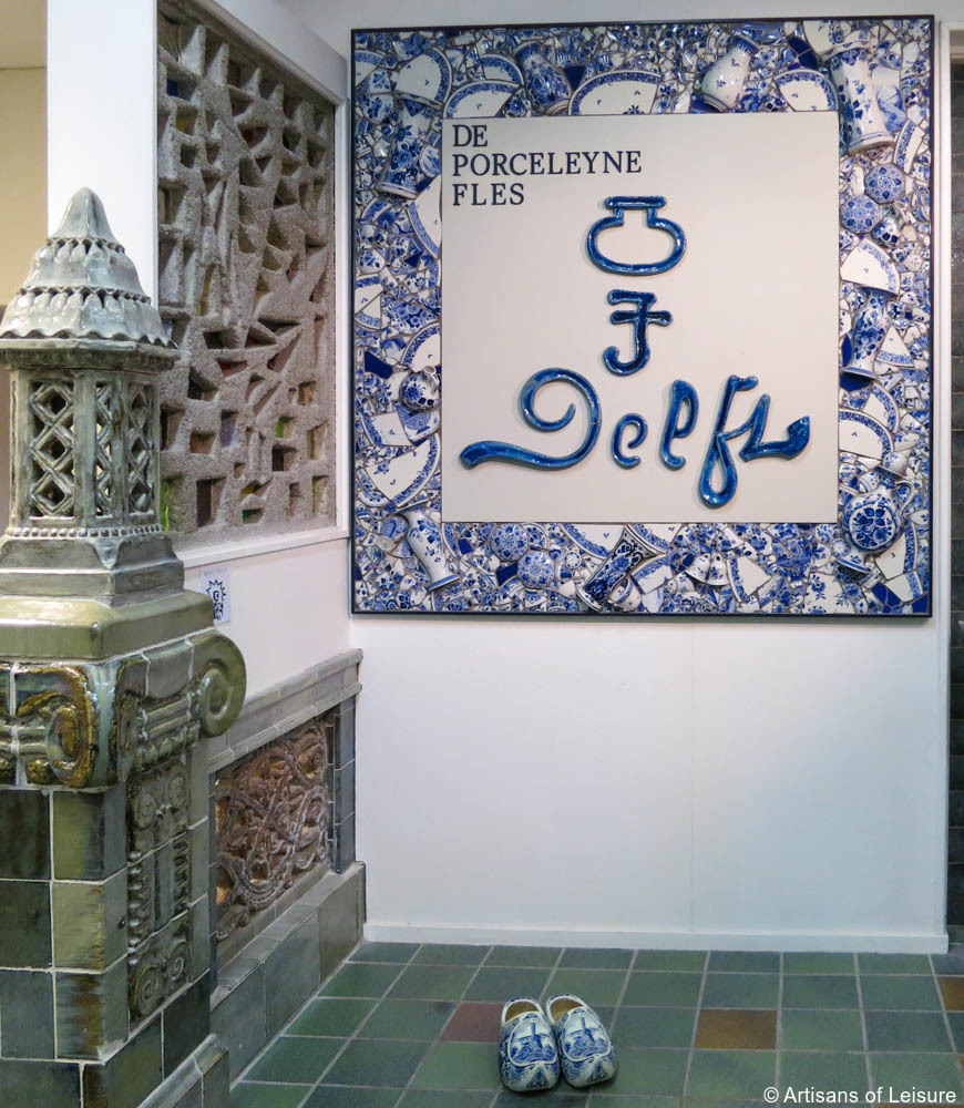 A Private Tour of the Royal Delft Factory in Holland