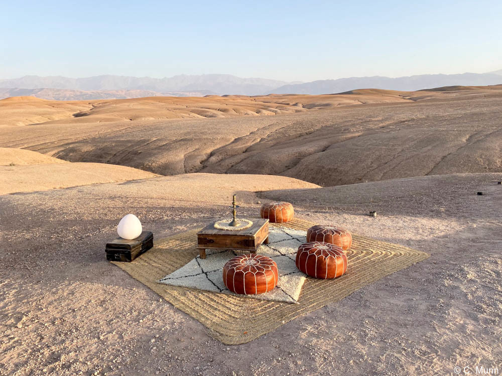 Exclusive Private Dinner in the Agafay Desert in Morocco