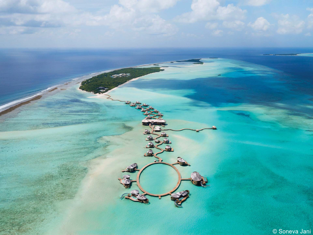Must Experience: A Luxurious Overwater Villa with a Slide at Soneva Jani in the Maldives