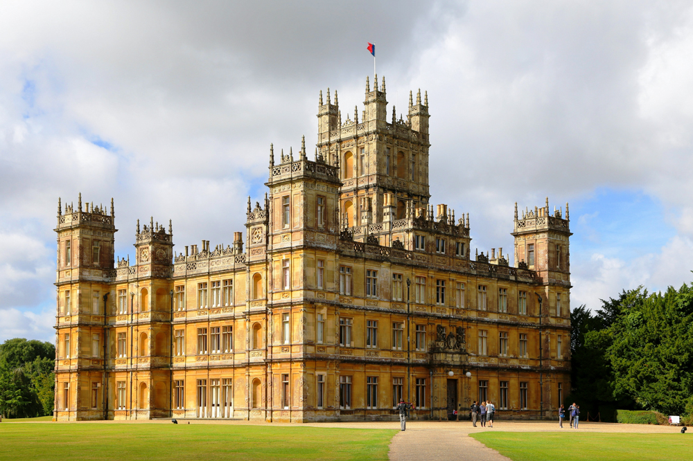 Visiting Highclere Castle in England