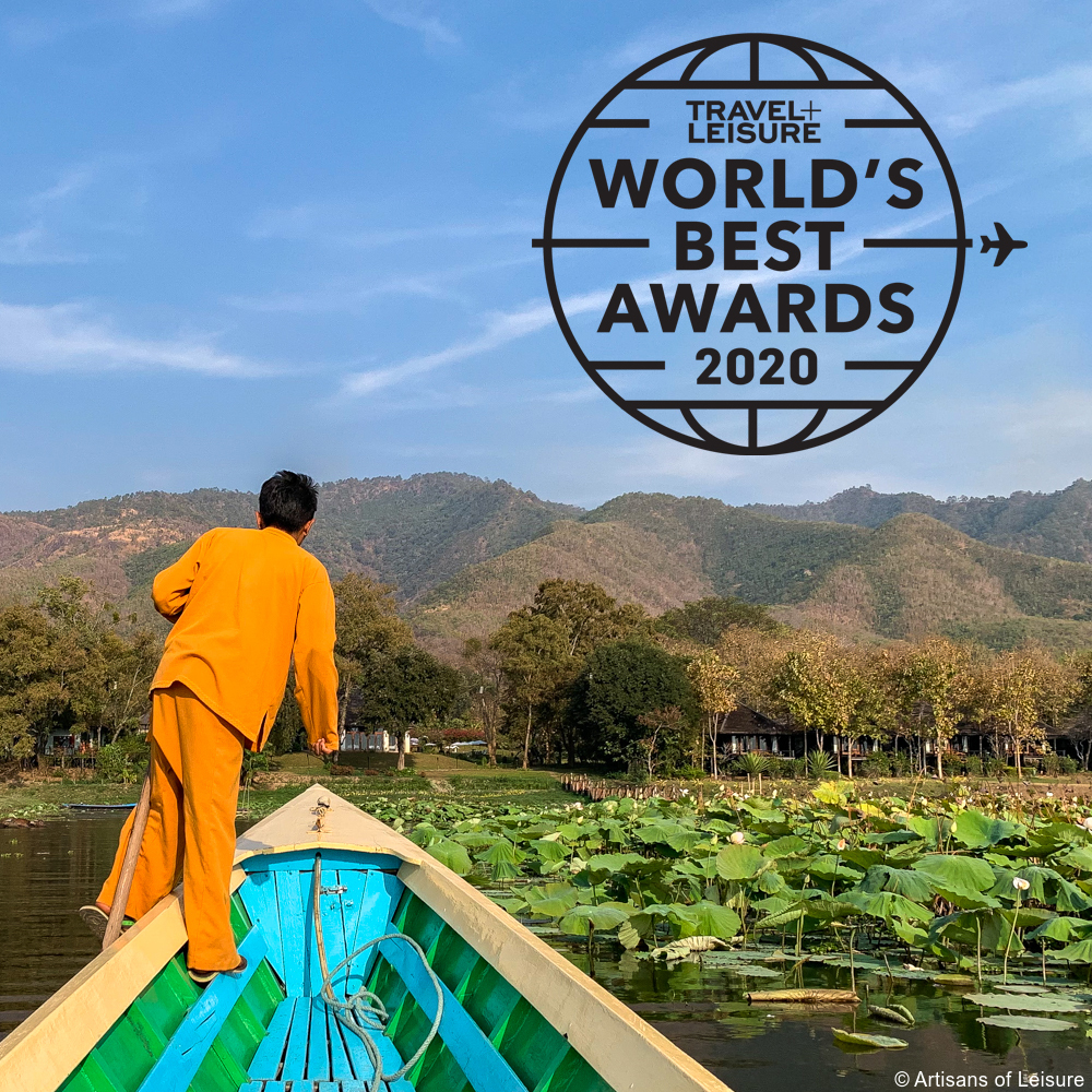 Artisans of Leisure Voted One of the World's Best Tour Operators in Travel + Leisure World's Best Awards 2020