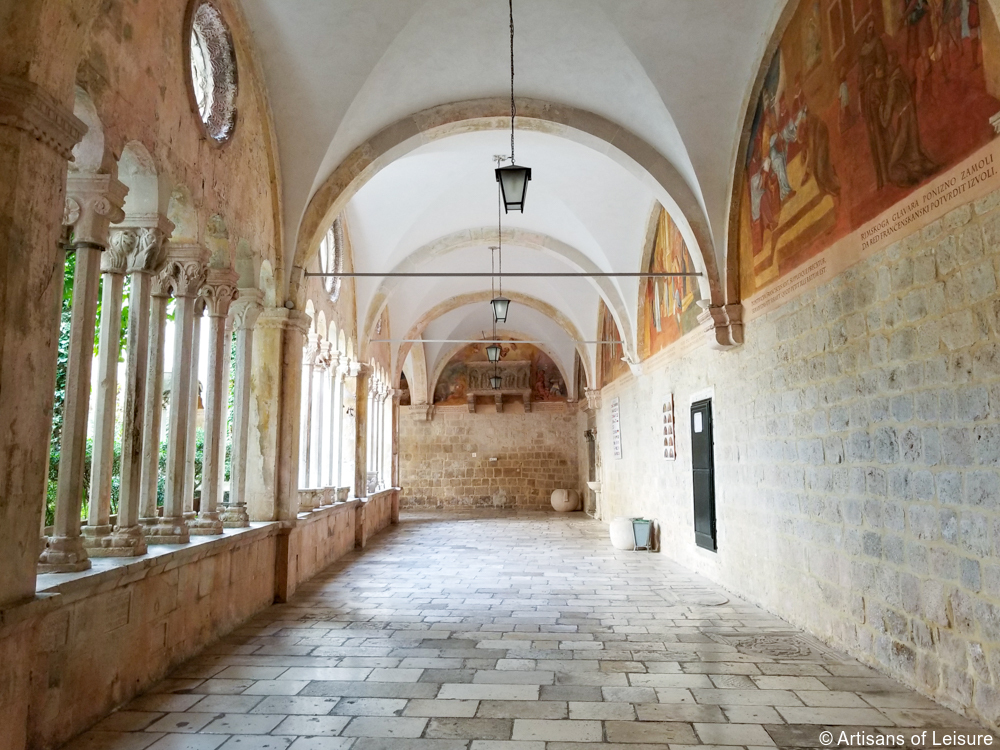 A Visit to the Franciscan Church & Monastery in Dubrovnik, Croatia