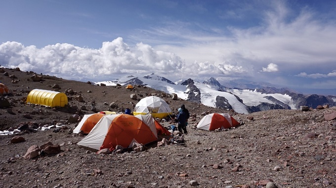 Aconcagua: Scott & Team Rest At Camp 2 Due to Weather