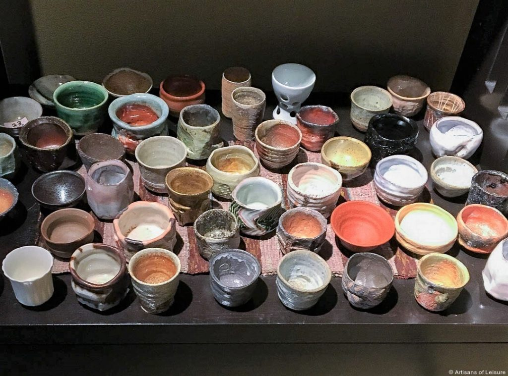 Enjoying Ceramics in Japan