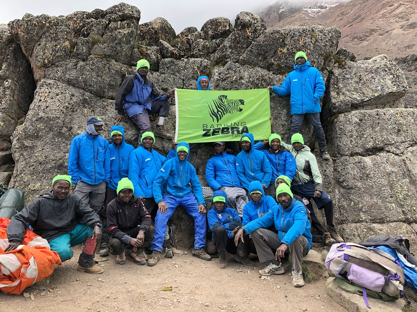 Kilimanjaro: Support for our Kilimanjaro Crew